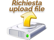 Richiesta upload file