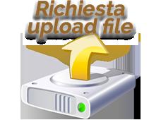 Richiesta upload file